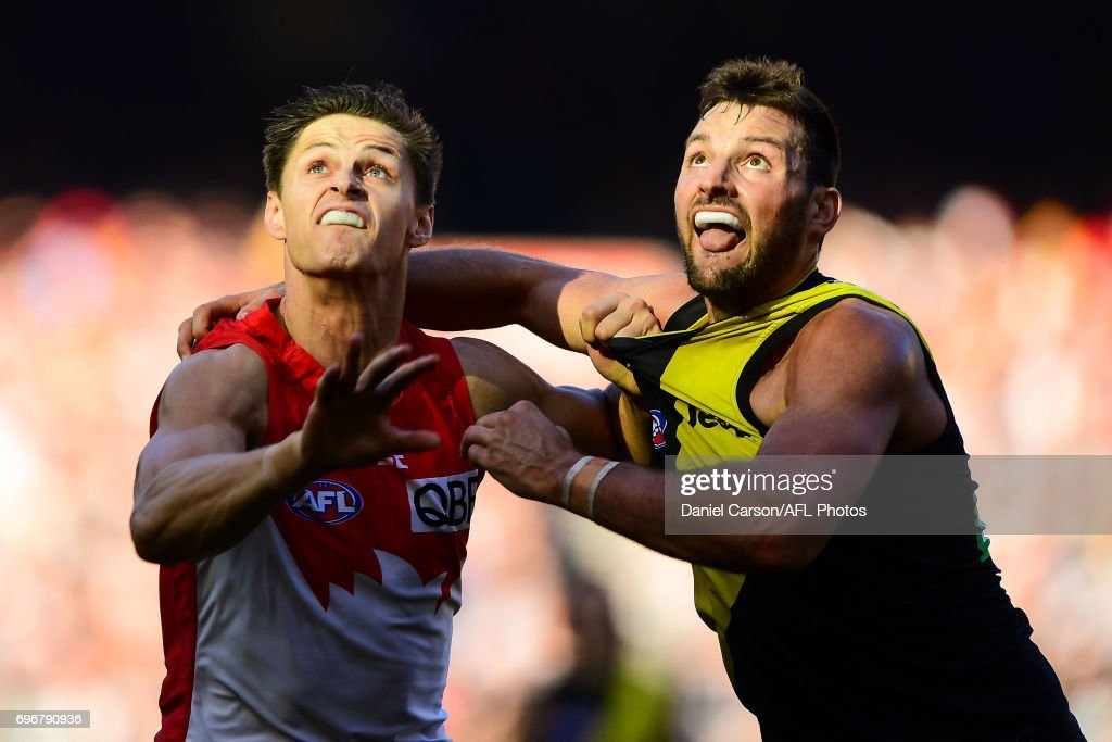 AFL Rd 13 - Richmond v Sydney : News Photo