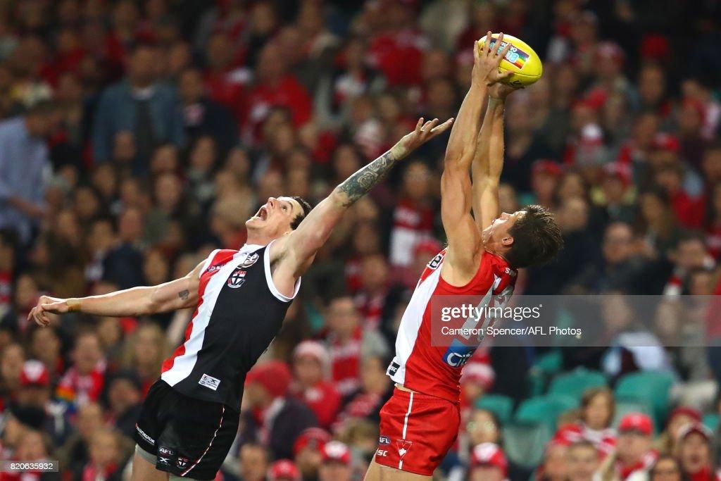AFL Rd 18 - Sydney v St Kilda : News Photo