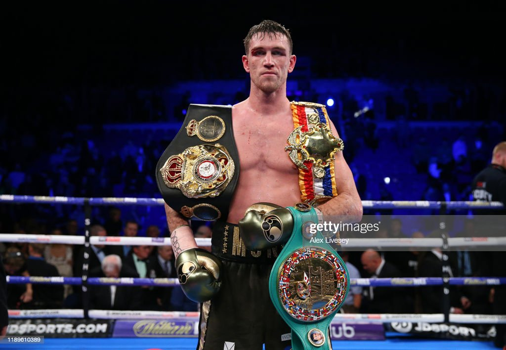 Callum Smith v John Ryder - WBA World, WBC Diamond & Ring Magazine Super-Middleweight Title Fight : ニュース写真