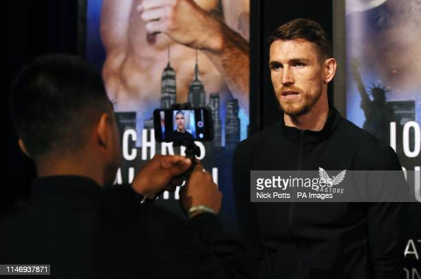 Callum Smith during the undercard press conference at Madison Square Garden New York