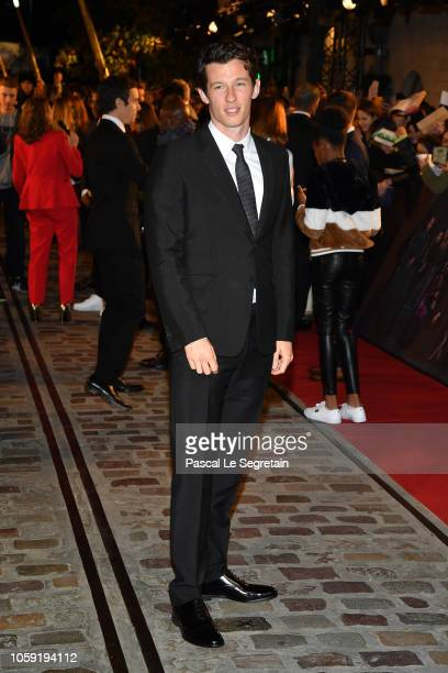 Callum Turner attends Fantastic Beasts The Crimes Of Grindelwald World Premiere at UGC Cine Cite Bercy on November 8 2018 in Paris France