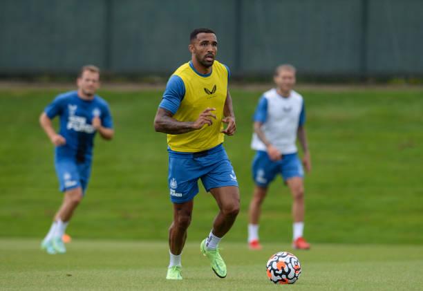 GBR: Newcastle United Pre-Season Training Session
