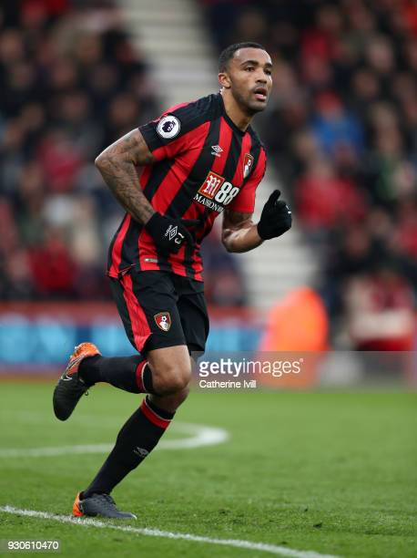 Callum Wilson of AFC Bournemouth during the Premier League match between AFC Bournemouth and Tottenham Hotspur at Vitality Stadium on March 10 2018...