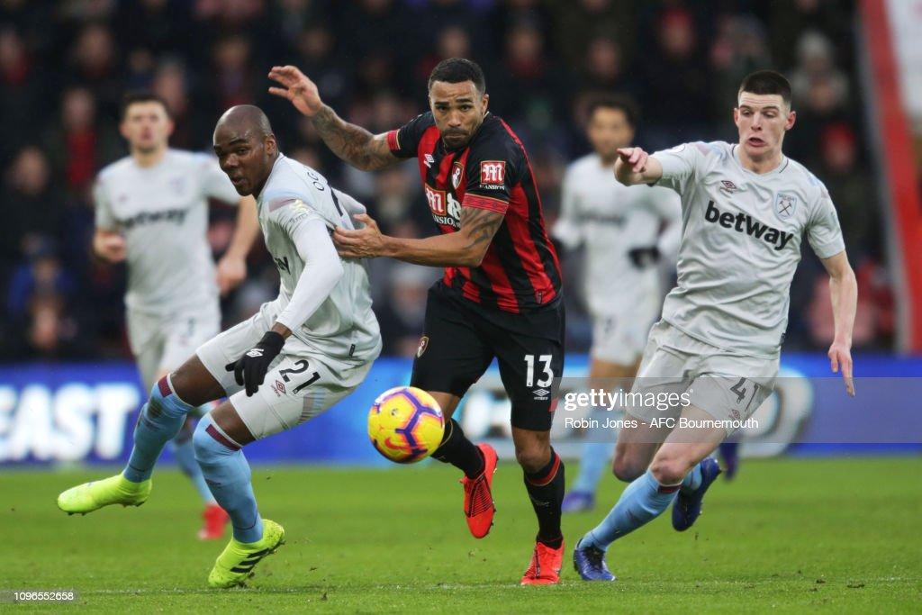 AFC Bournemouth v West Ham United - Premier League : Nachrichtenfoto