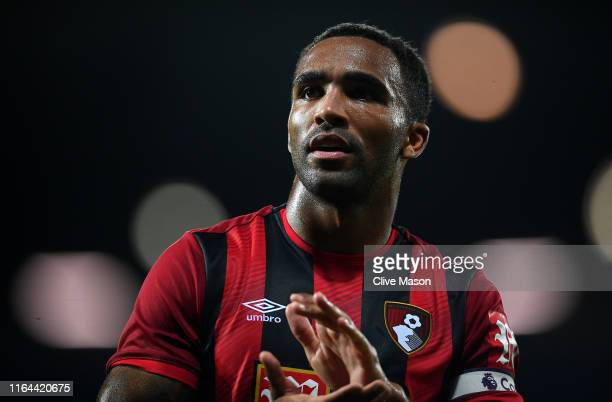 Callum Wilson of Bournemouth during the Pre-Season Friendly match between West Bromwich Albion and Bournemouth at The Hawthorns on July 26, 2019 in...