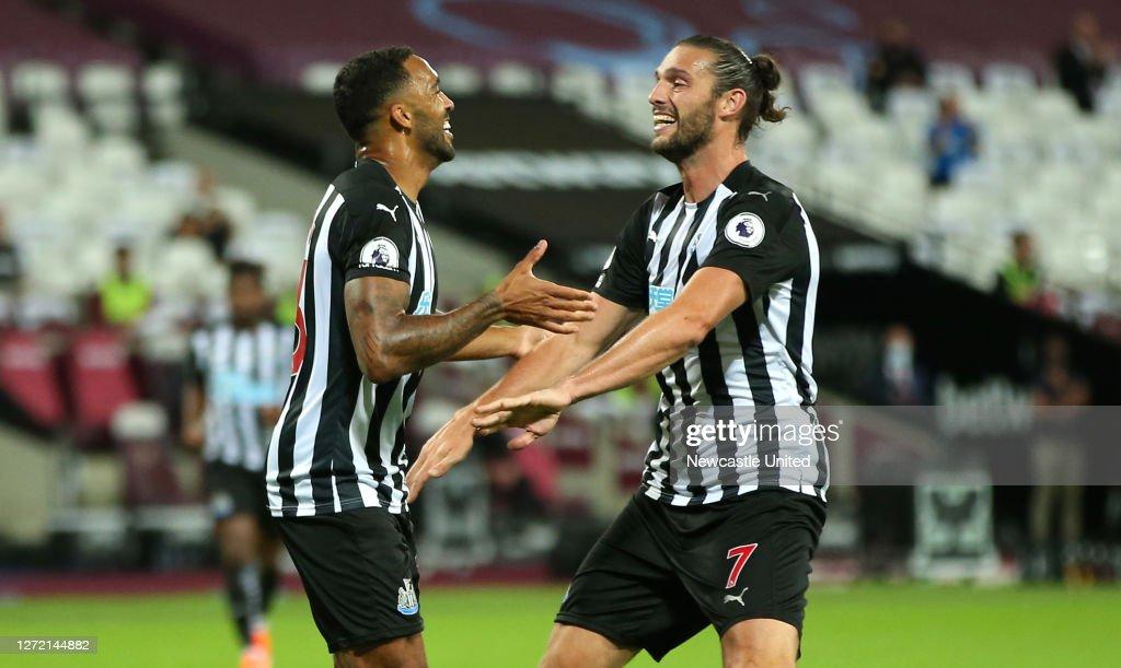 West Ham United v Newcastle United - Premier League : Nieuwsfoto's