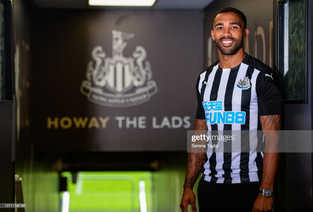 Newcastle United Unveil New Signing Callum Wilson : News Photo