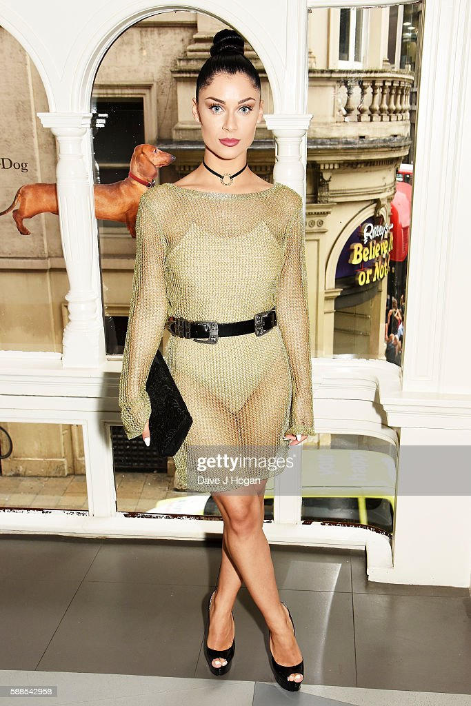 Cally Jane Beech attends a special screening of 'War Dogs' at Picturehouse Central on August 11, 2016 in London, England.