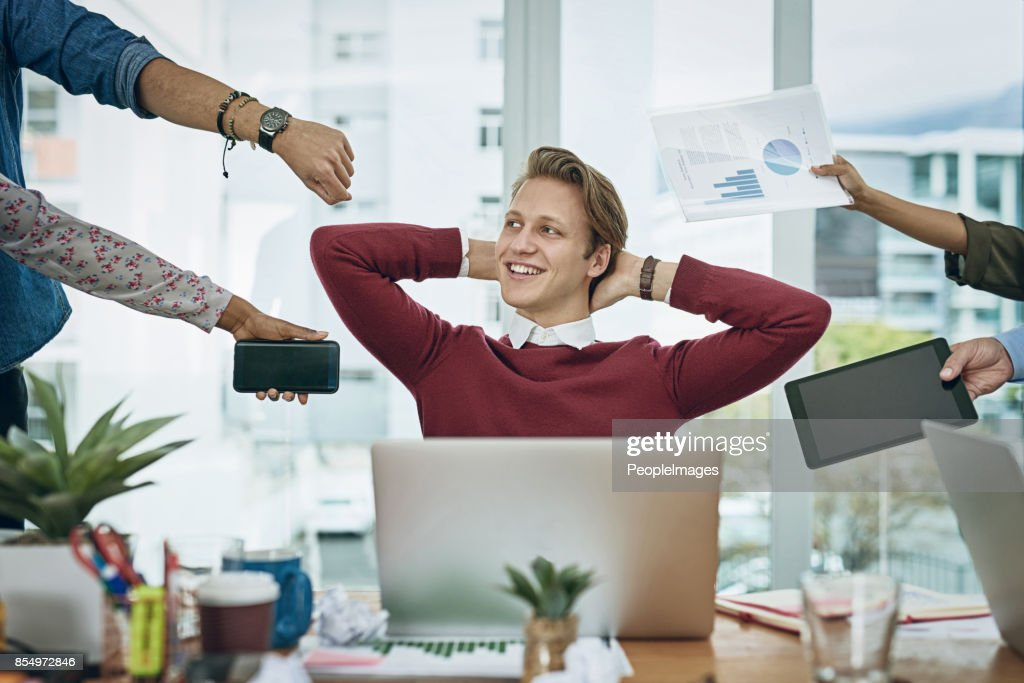 Calm amongst the chaos : Stock Photo