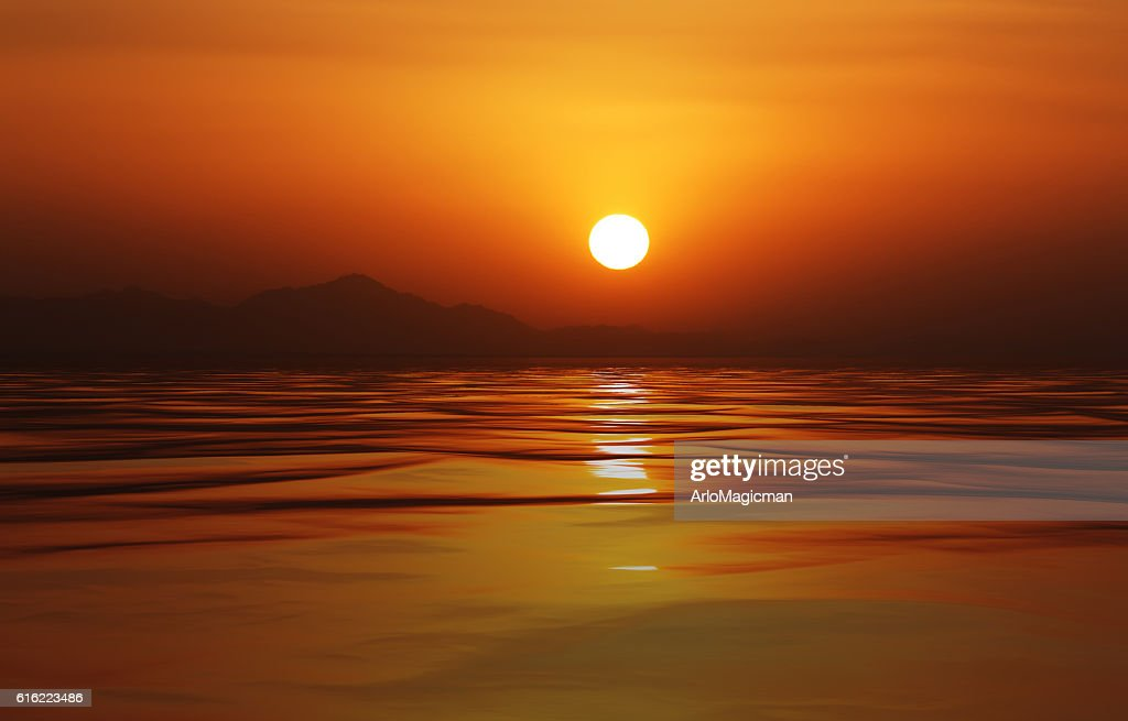 calm ocean : Stock Photo