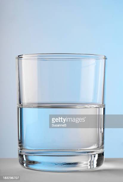calm - half full stock photos and pictures