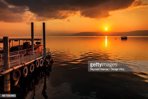 The storm on the sea of galilee stock photos and pictures getty a calm settles on the sea of galilee just after a storm publicscrutiny Images