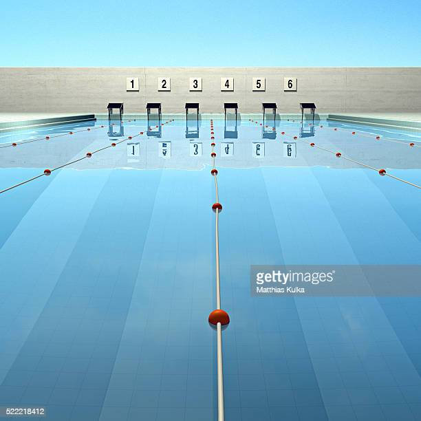 calm swimming pool - length stock pictures, royalty-free photos & images