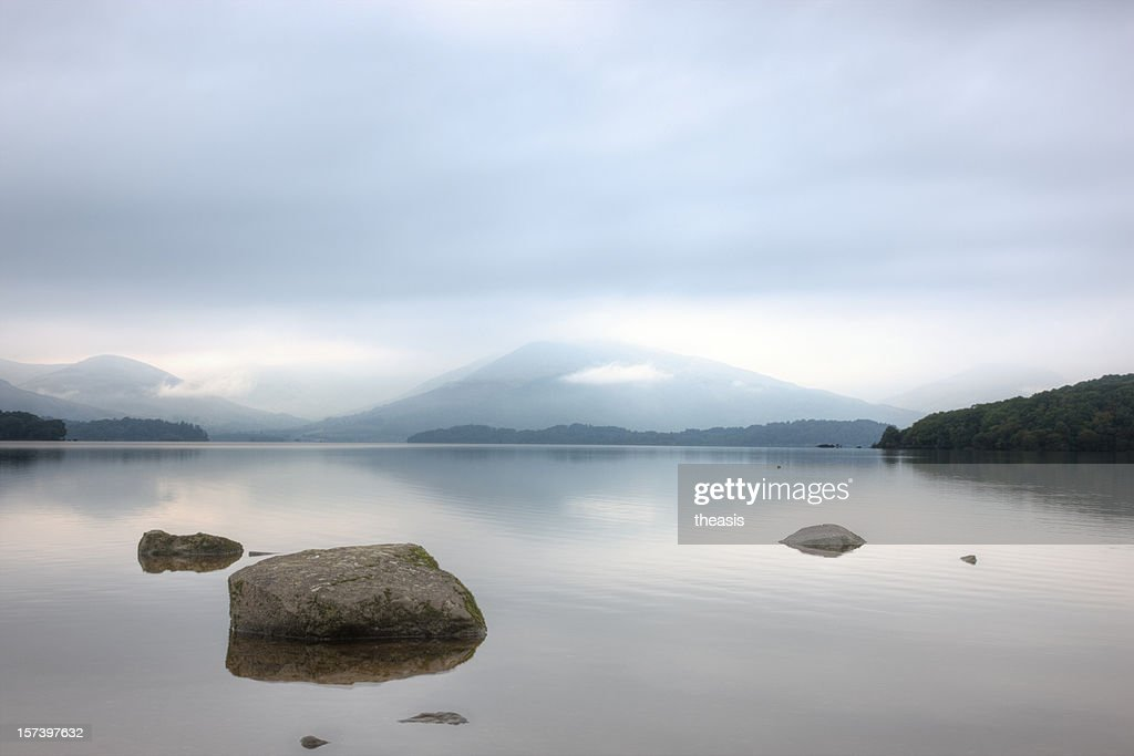 Calm Water : Stock Photo