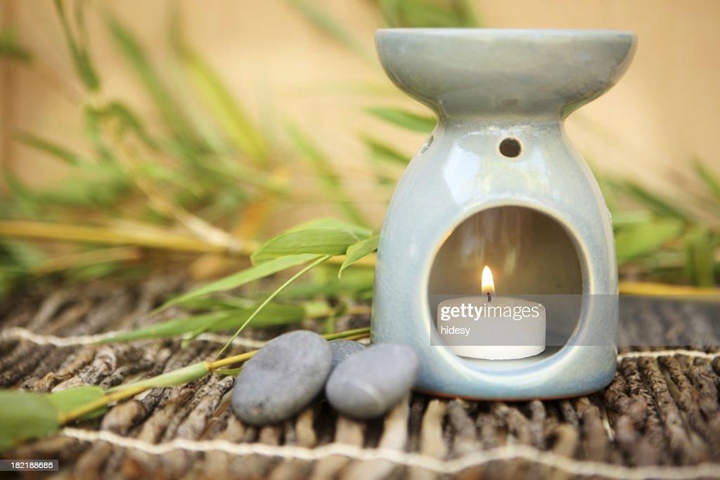 Calming Oil Burner : Stock Photo
