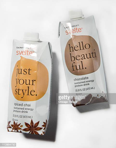 CalNaturale's Svelte sustained energy protein drink÷ · in varieties such as French vanilla chocolate cappuccino and spiced chai · tastes like creamy...