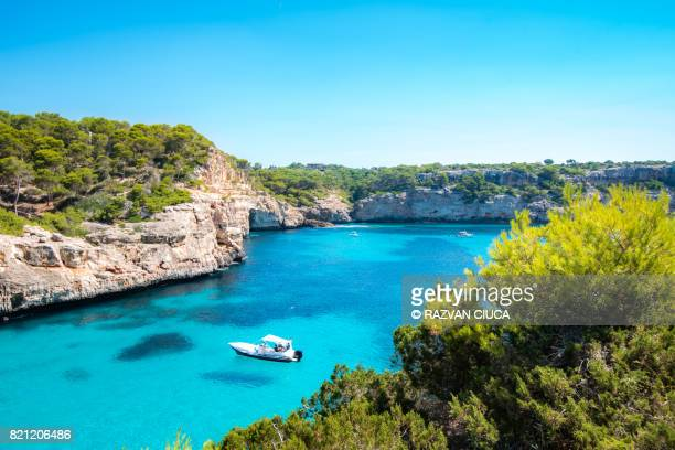 calo des moro - majorca stock pictures, royalty-free photos & images