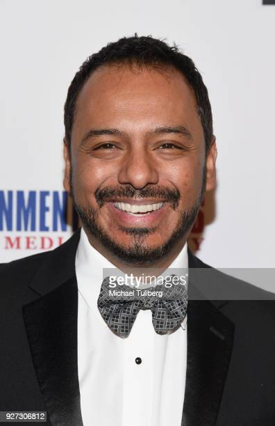 Calos Moreno Jr. Attends Byron Allen's Oscar Gala Viewing Party To Support The Children's Hospital Los Angeles at the Beverly Wilshire Four Seasons...
