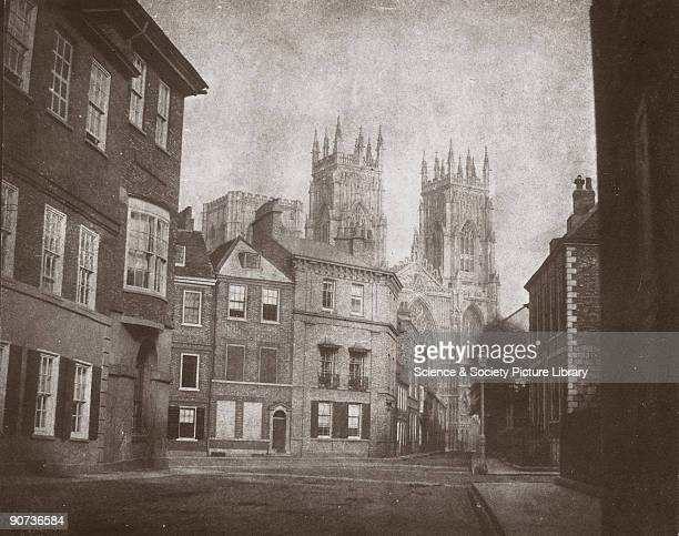 Calotype by William Henry Fox Talbot and the Reverend Calvert Jones Fox Talbot invented the negative/positive process for making photographs between...