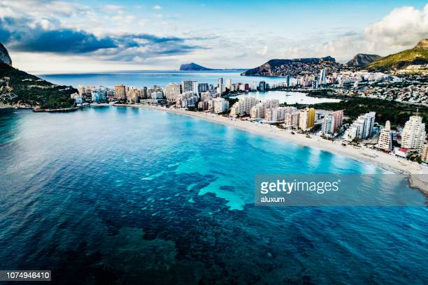 calp alicante spain - alicante stock pictures, royalty-free photos & images