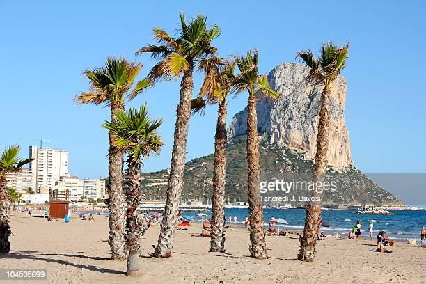 calpe beach - カルペ ストックフォトと画像
