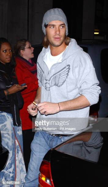 Calum Best arrives for the NERD BRIT aftershow party at Pangea Piccadilly Circus central London