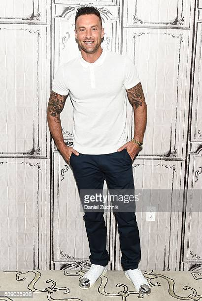 Calum Best attends AOL Build to discuss 'Famously Single' at AOL Studios on June 9 2016 in New York City