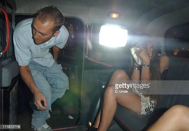 Calum Best during Callum Best Sighting at China White in London July 20 2005 at China White in London Great Britain