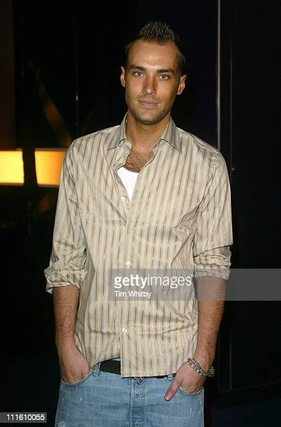 Calum Best during 'Hell's Kitchen II' Day 10 Arrivals at Truman Brewery in London Great Britain