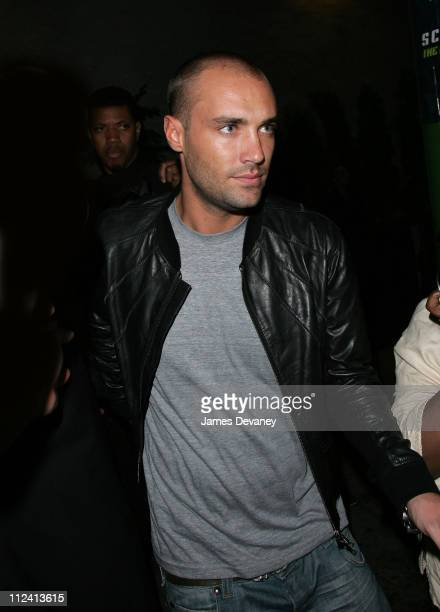 Calum Best during Lindsay Lohan and Calum Best Sighting In New York City May 15 2007 at Bungalow 8 in New York City New York United States