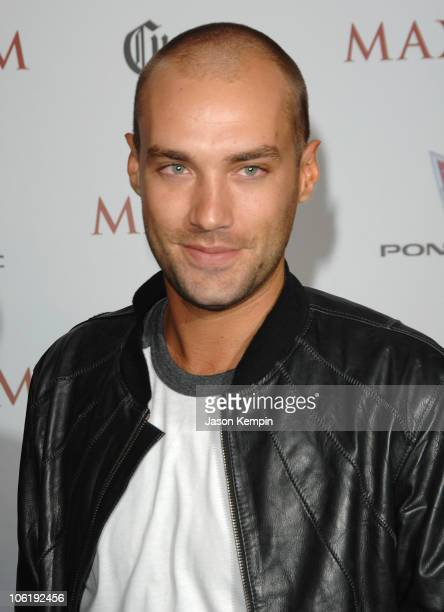 Calum Best during Maxim's 8th Annual Hot 100 Party Arrivals at The Gansevoort Hotel in New York City New York United States