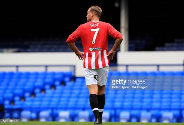Calum Best during the Bradley Lowery charity match at Goodison Park Liverpool PRESS ASSOCIATION Photo Picture date Sunday September 3 2017 See PA...