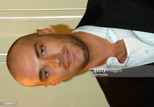 Calum Best during UK FiFi Awards 2006 Inside at The Dorchester in London Great Britain