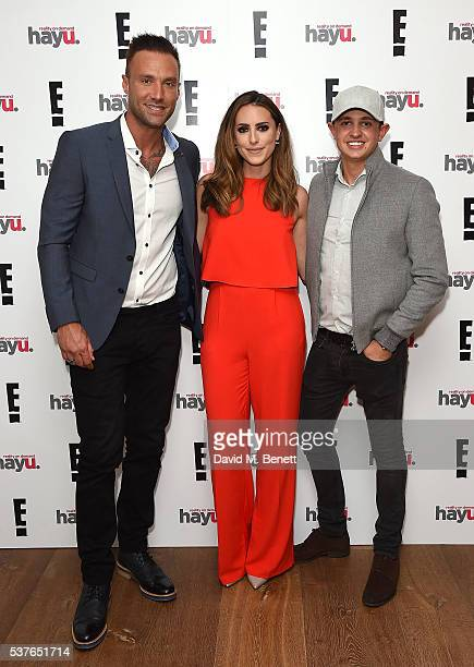 Calum Best Sabrina Chakici and George Lineker attend the launch of new US celebrity dating show 'Famously Single' featuring Calum Best on June 2 2016...