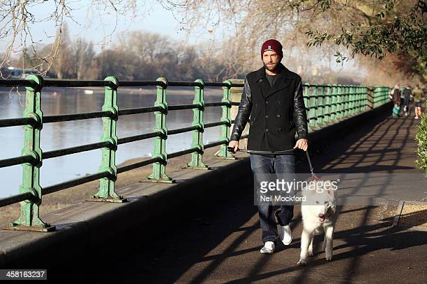 Calum Best seen walking his dog on December 20 2013 in London England