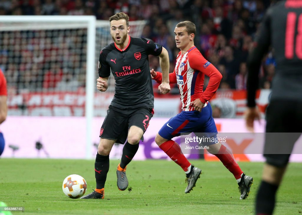 Atletico Madrid v Arsenal FC  - UEFA Europa League Semi Final Second Leg : News Photo