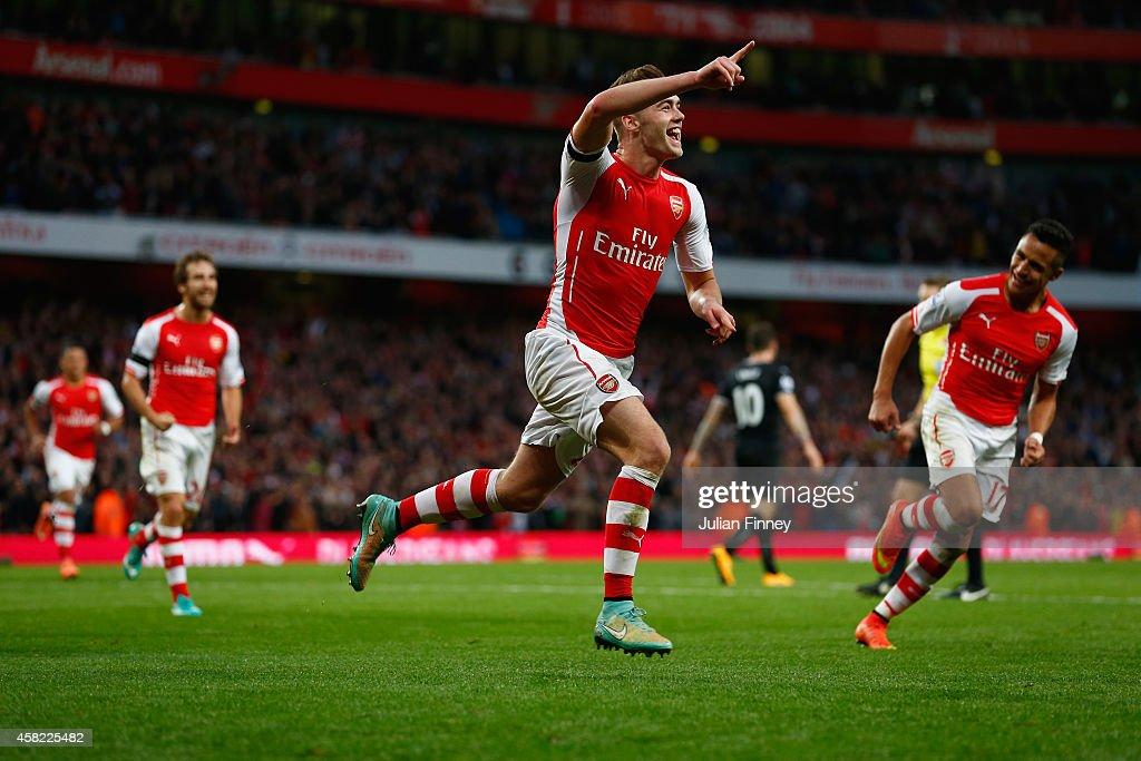 Arsenal v Burnley - Premier League : Fotografía de noticias