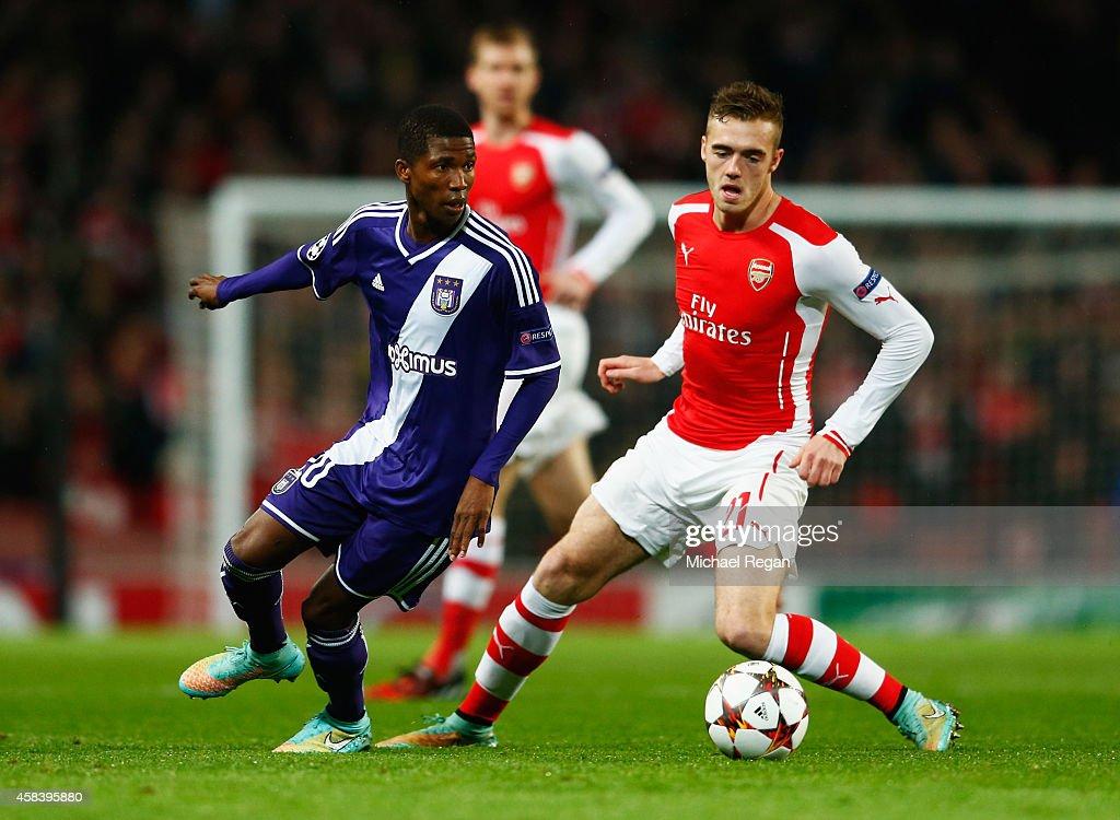 Arsenal FC v RSC Anderlecht - UEFA Champions League : News Photo