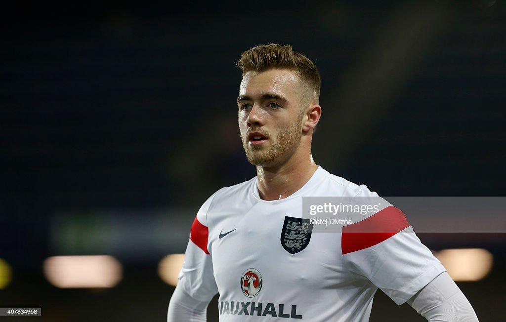 Czech Republic v England: U21 International Friendly : News Photo