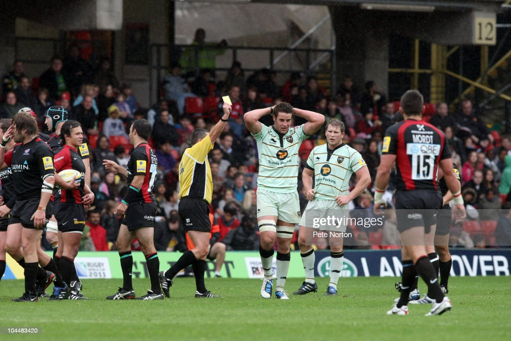 Saracens v Northampton Saints - Aviva Premiership : News Photo