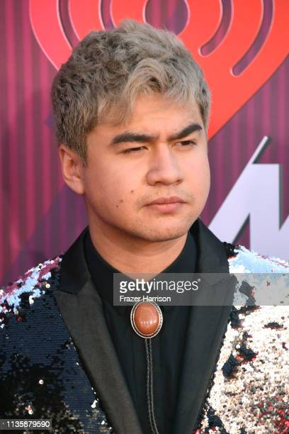 Calum Hood of 5 Seconds of Summer attends the 2019 iHeartRadio Music Awards which broadcasted live on FOX at Microsoft Theater on March 14 2019 in...