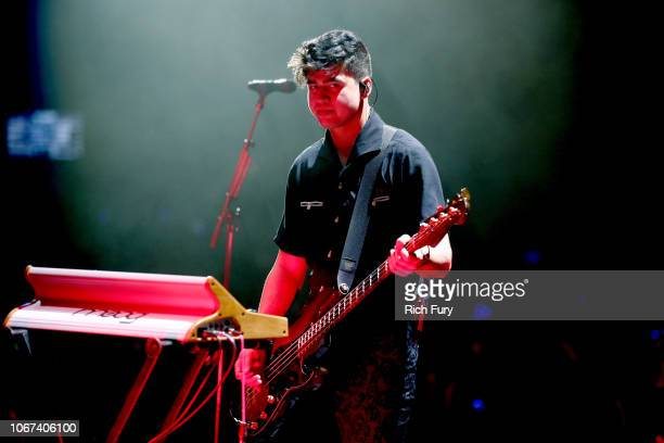 Calum Hood of 5 Seconds of Summer performs onstage during WiLD 949's FM's Jingle Ball 2018 Presented by Capital One at Bill Graham Civic Auditorium...