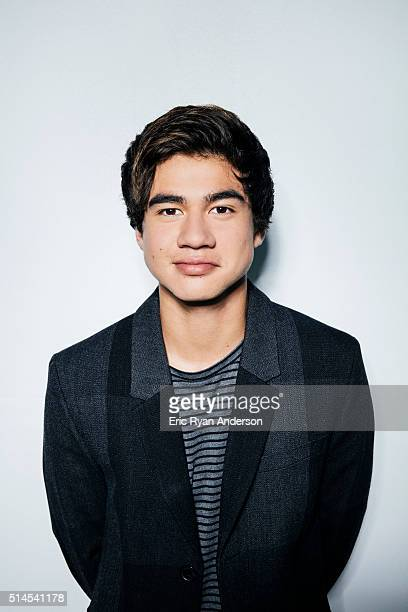 Calum Hood of Australian rock band 5 Seconds of Summer is photographed for Billboard Magazine on September 1 2015 in New York City PUBLISHED IMAGE