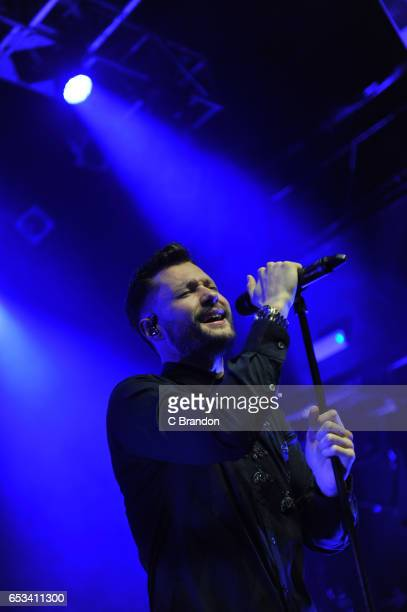Calum Scott performs on stage at KOKO on March 14 2017 in London United Kingdom