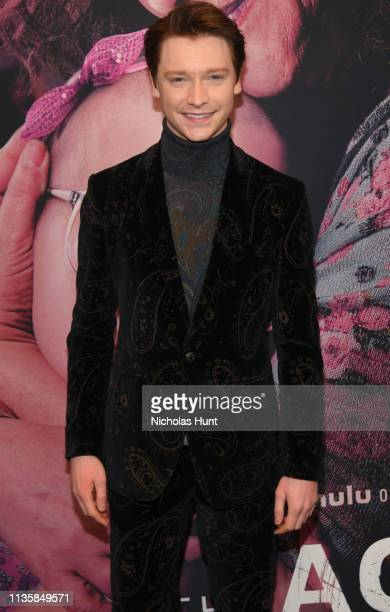 Calum Worthy attends Hulu's The Act New York Premiere at The Whitby Hotel on March 14 2019 in New York City