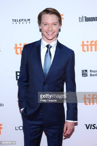 Calum Worthy attends the 'Bodied' premiere during the 2017 Toronto International Film Festival at Ryerson Theatre on September 7 2017 in Toronto...