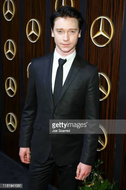 Calum Worthy attends the MercedesBenz USA Awards Viewing Party at Four Seasons Los Angeles at Beverly Hills on February 24 2019 in Los Angeles...