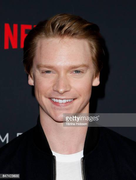 Calum Worthy attends the premiere of Netflix's 'American Vandal' at ArcLight Hollywood on September 14 2017 in Hollywood California