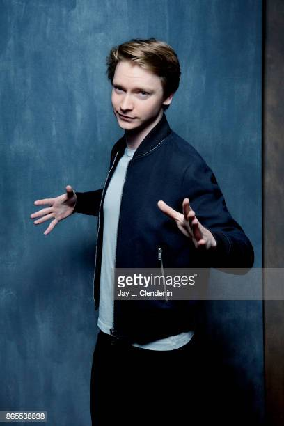 Calum Worthy from the film Bodied poses for a portrait at the 2017 Toronto International Film Festival for Los Angeles Times on September 08 2017 in...