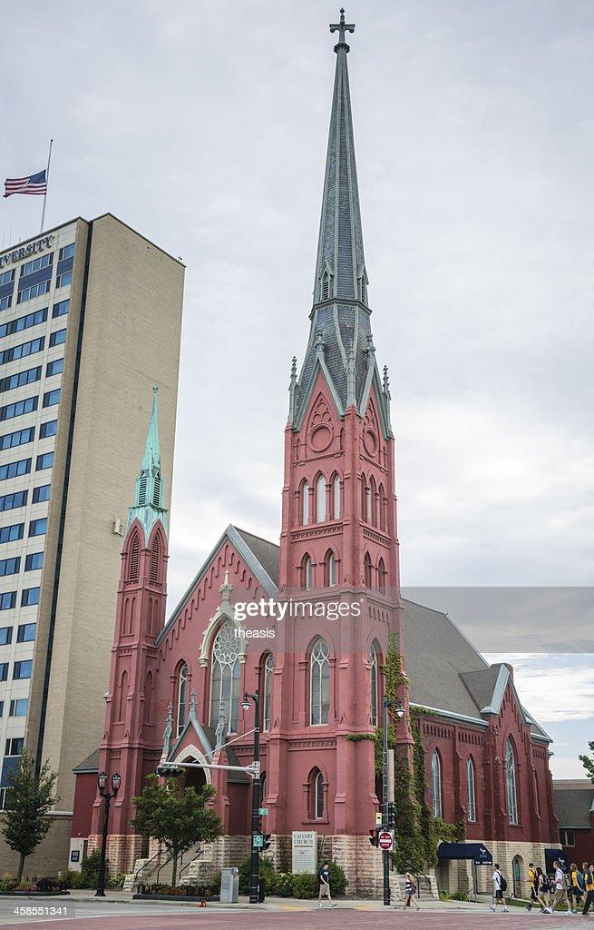 Calvary Church, Milwaukee : Stock Photo